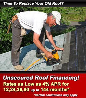 High Quality New Roof Financing